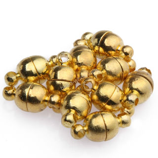 small strong gold tone magnetic clasps