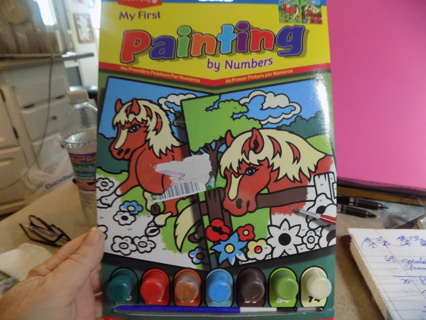 Reeves My First painting by numbers kit 2 horse pictures