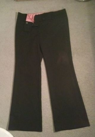 soft black pants