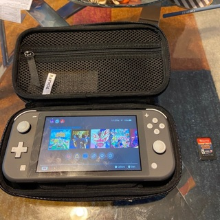 Nintendo Switch Lite with Games and Carrying Case
