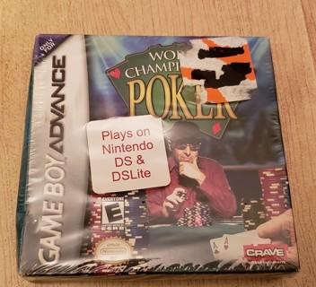 Gameboy Advance World Championship Poker