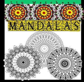 Mandalas: A relaxing Coloring Book For Adults (Mandala Coloring Books For Adults) (Volume 2)