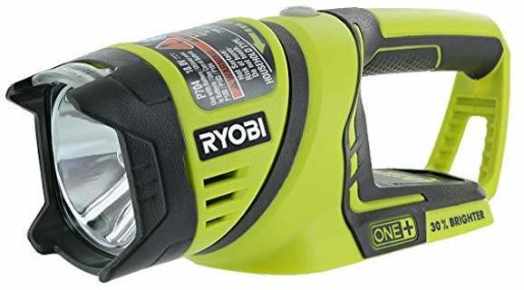 Ryobi One+ P704 18V Lithium Ion Cordless Flashlight