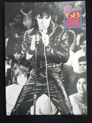 "1992 The River Group Elvis Presley ""The Elvis Collection: '68 Comeback Special"" Trading Card #381"