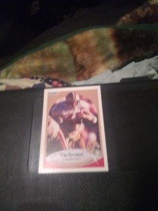 1 random football card