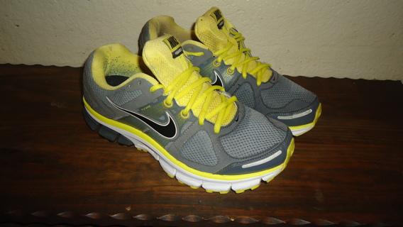 8f24d3bf18b96 FREE  Nike AIR PEGASUS+28 443805-007 Grey Yellow MENS SHOES SIZE 8 (US)