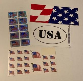 Patriotic stickers