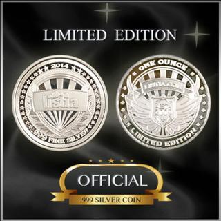 L.I.S.T.I.A. Silver 1 oz. Collectible Coin .999 Fine