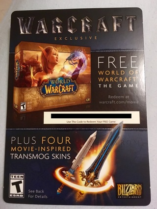 Warcraft Exclusive Game Download Code PC/MAC