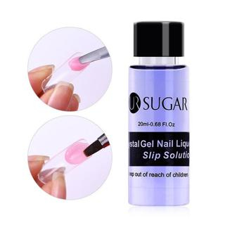 20ml Nail Liquid Slip Solution Acrylic Builder Poly Nail Gel Extended UR Sugar