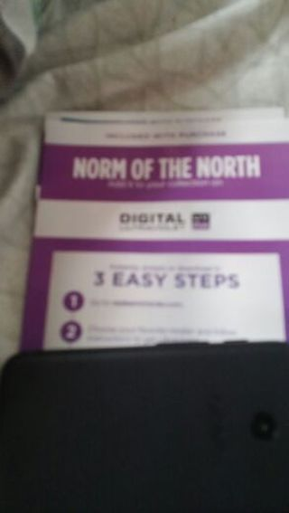 UV CODE: Norm OF THE NORTH