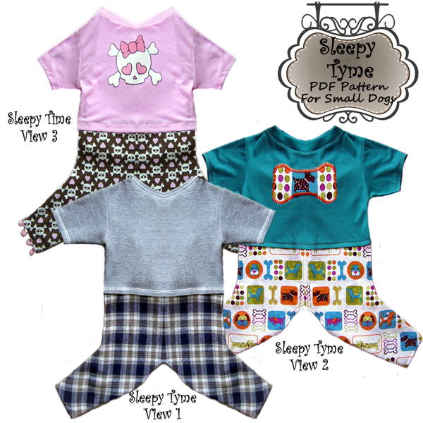 Free Dog Clothes Pajama Pdf Pattern To Sew Sewing Listia