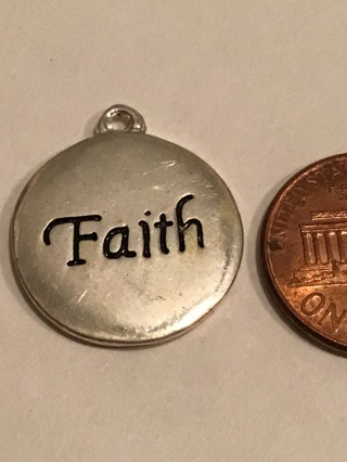 Faith charm /pendant