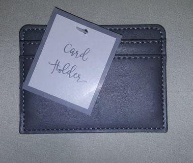 Gray Bank Card Holder Purse Organize NEW