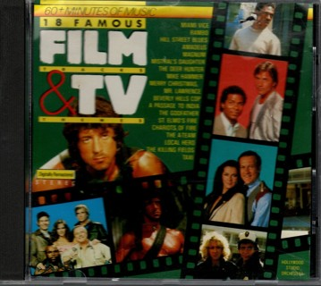 18 Famous Film & TV Themes - CD by the Hollywood Studio Orchestra