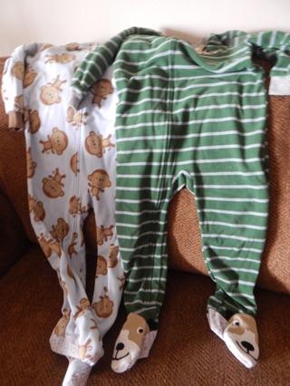 5 Pair Footie Pajamas's for Boys...Size 3T