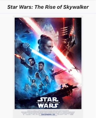 STAR WARS•THE RISE OF SKYWALKER•MA