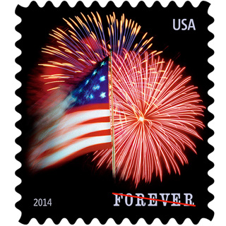 1 book of 20  NEW FOREVER STAMPS-. My choice