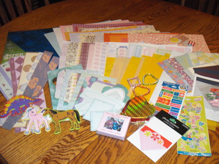my 100 th auction/huge scrapbooking