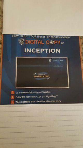 Inception Digital Copy Download