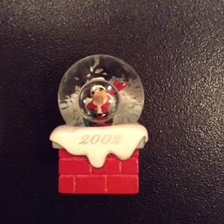 Walt Disney Mickey Mouse 2002 Snow Globe
