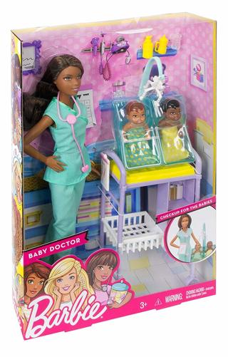 NEW Barbie Careers Doctor Barbie Doll Playset FREE SHIPPING