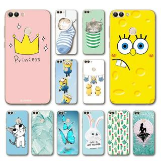Dark Various Style Wolf Phone Case Cover For Huawei P Smart Silicon Covers Funda For Huawei P Smar