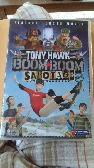 Tony Hawk Boom Boom Sabotage DVD