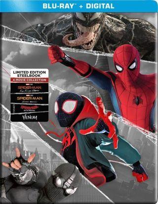 Spider-Man: 4-Movie Collection (Digital Code - HD) MA or Vudu Redeem