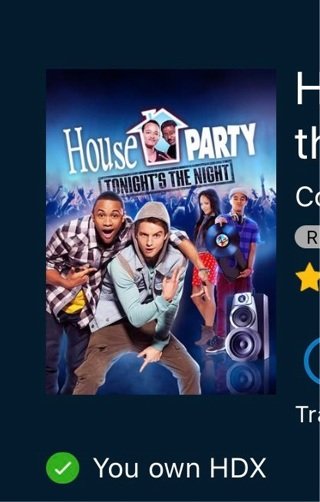 House Party Tonight's the Night digital HD