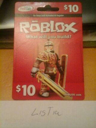 Free: Roblox card - Video Game Prepaid Cards & Codes - Listia com