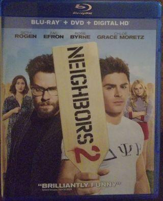Neighbors 2 (2016) Ultraviolet Code NEW! NEVER USED! Seth Rogen Zac Efron Rose Byrne