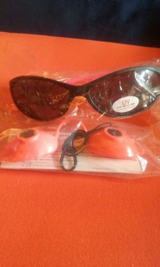 Goggles and sunglasses