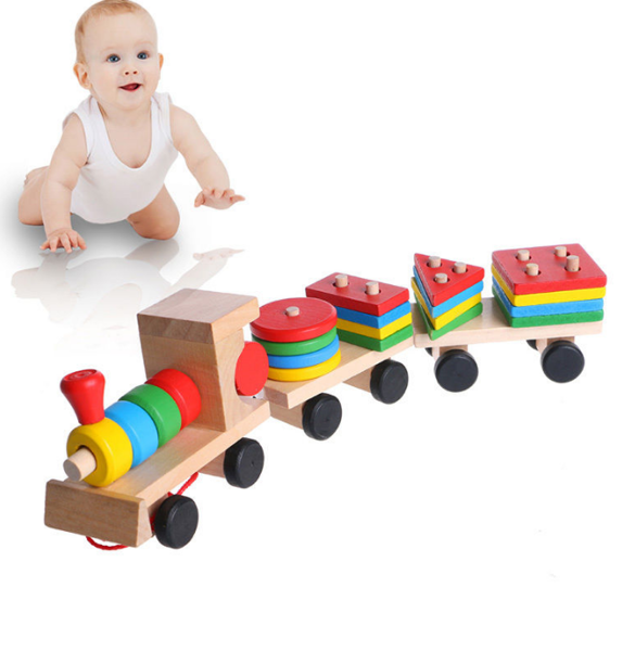 Developmental Toys For Toddlers : Free baby kids developmental toys train truck wooden