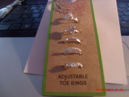 SPARKLY TOE RINGS