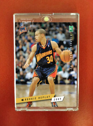 Stephen Curry / GS Warriors RC / Rookie Replay 2009 / Generation Next