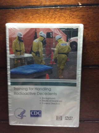 Training For Handling  RadioActive Decedent Dvd