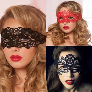 Sexy Babydoll Porn Lingerie Sexy Black/White/Red Hollow Lace Mask Erotic Costumes Women Sexy