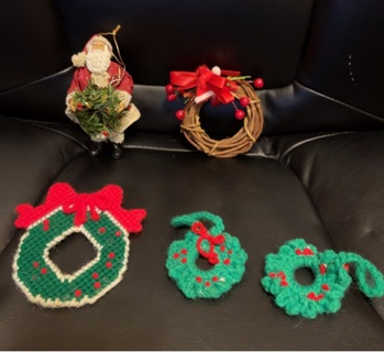Wreath Christmas Ornaments