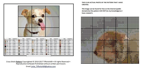 Chihuahua Dog Cross Stitch Patterns ***WINNERS CHOICE***