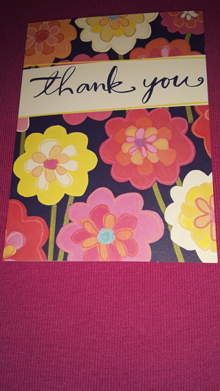 Thank You Notecards - Floral