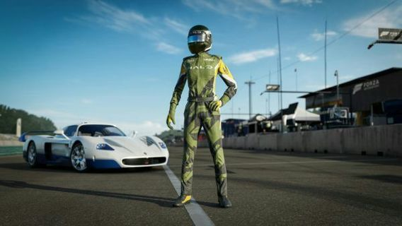 Forza motorsport 7 halo themed race suit (early access)