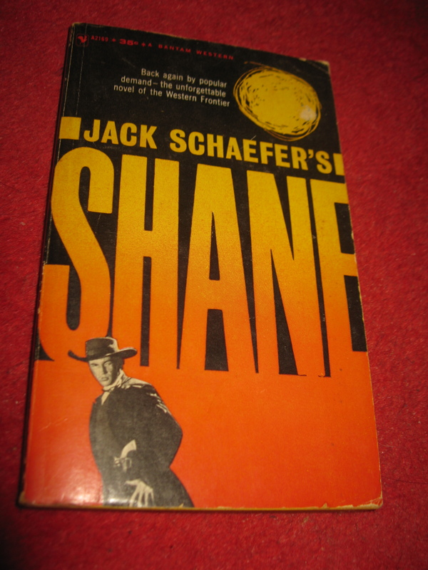 an analysis of the main character in shane a book by jack schaefer