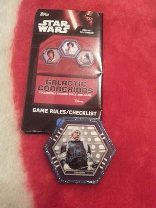 Star Wars Galactic connections trading disc game
