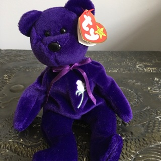 Princess BEANIE BABY ❤️〽️  |  You Also Get A DISPLAY CASE!!