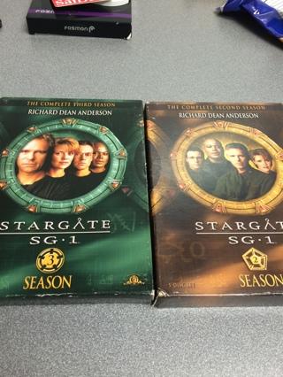 Stargate sg1 seasons 2&3
