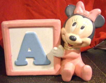 DISNEY Baby Minnie Mouse Planter