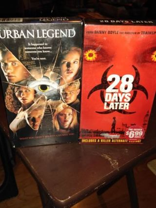 Urban legend movie and 28 days later movie