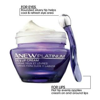 ANEW PLATINUM EYE AND LIP CREAM