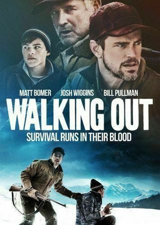 2018 Walking Out -Survival Runs in their Blood-Mountain Survival-True Story-Dvd Movie-New & Sealed